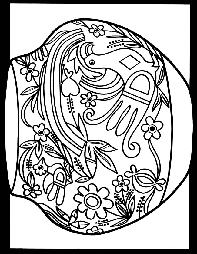 Holiday Coloring Pages sukkot coloring pages : coloring page 1 coloring page 2 guide to the plates
