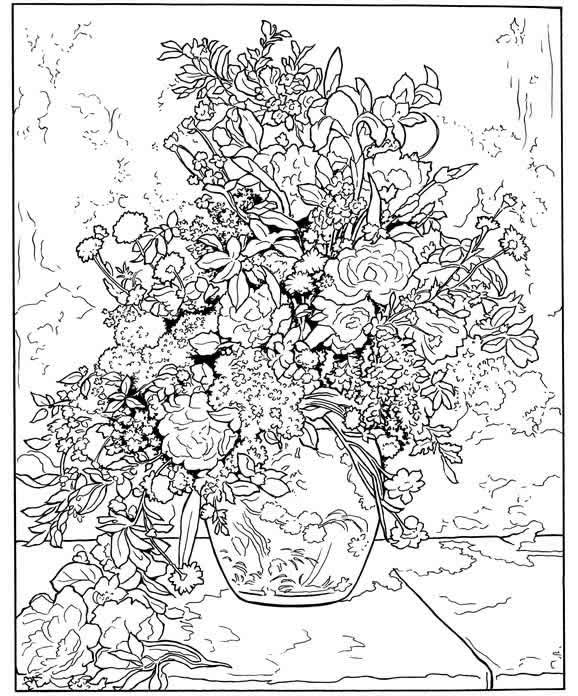 Printable Advanced Coloring Pages Tulips Printable Best