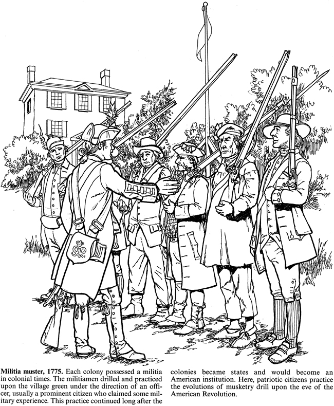 Free Coloring Pages Of Colonial Cook Colonial America Coloring Pages