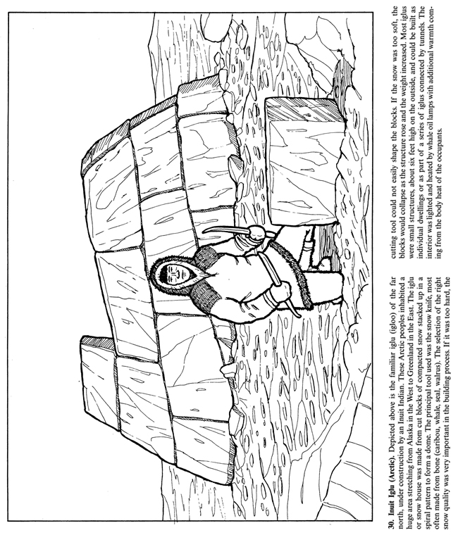 native american longhouse coloring pages - photo#13