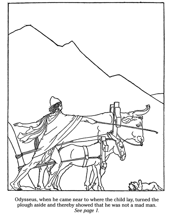 coloring pages odyssey of homer - photo#20