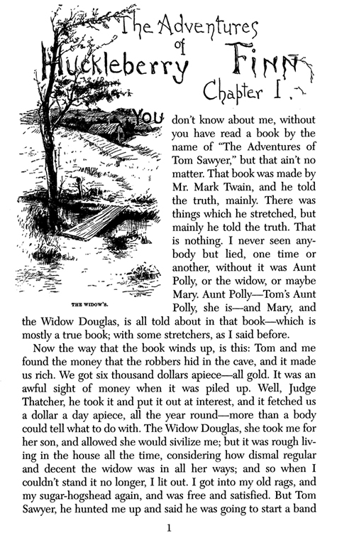 The Role of Jim in Huckleberry Finn