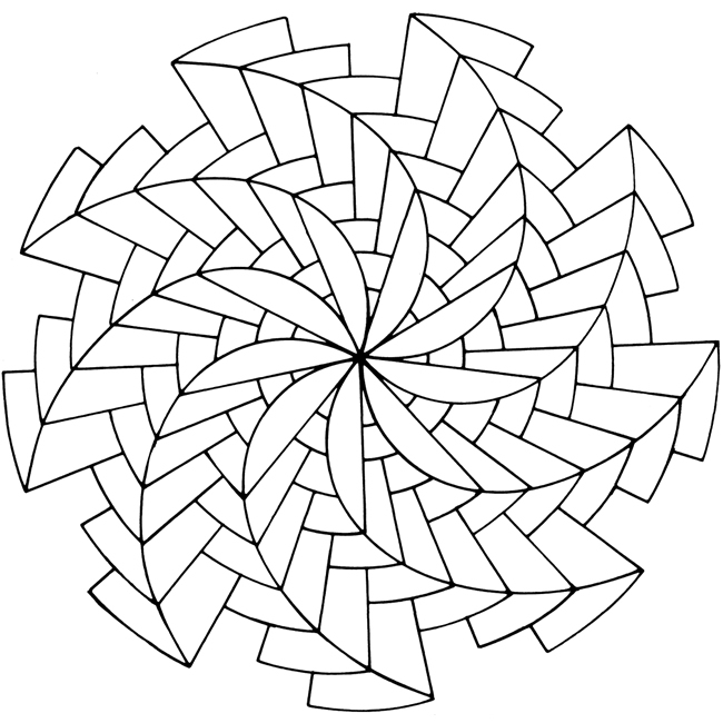 Op art coloring sheets coloring pages for Op art coloring pages