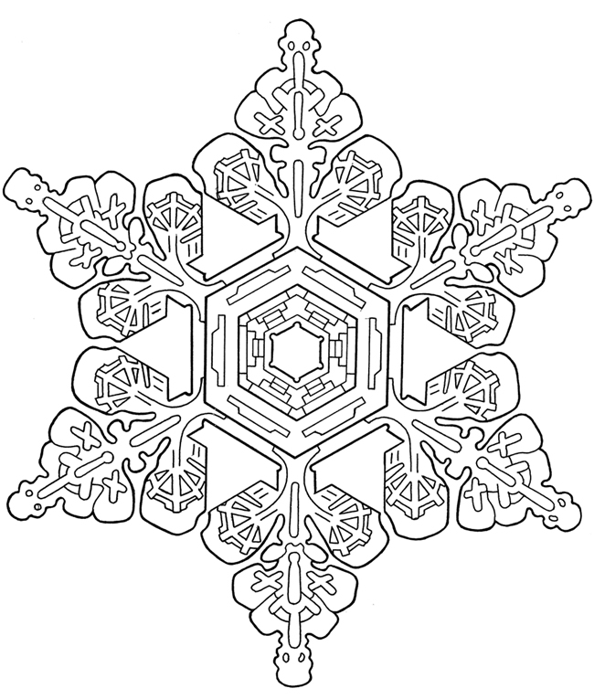 Welcome To Dover Publications Snowflake Coloring Pages For Adults