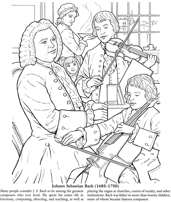 Coloring Book Features Black Musical Composers - Los ... |Composers Coloring Pages