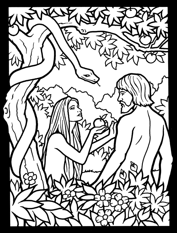 Free Coloring Pages Of Garden Of Eden Snake