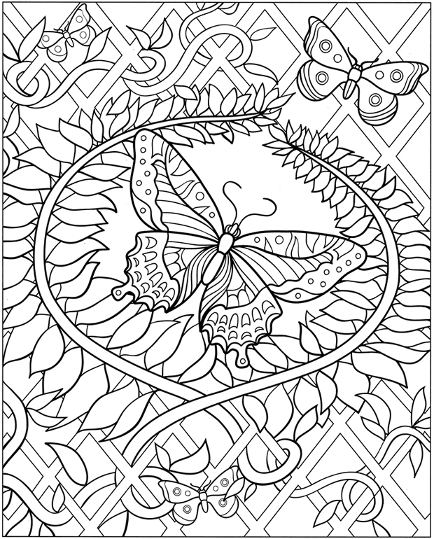 free dover coloring pages - photo#10