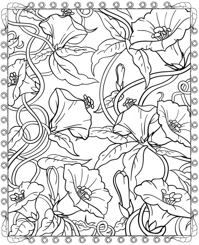 free dover coloring pages - photo#9