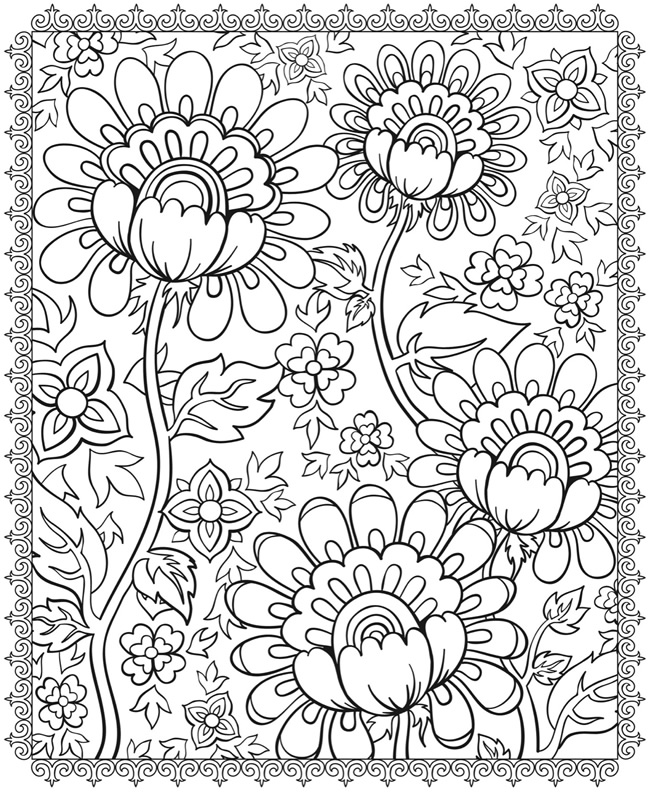sample coloring pages for kids - photo#38