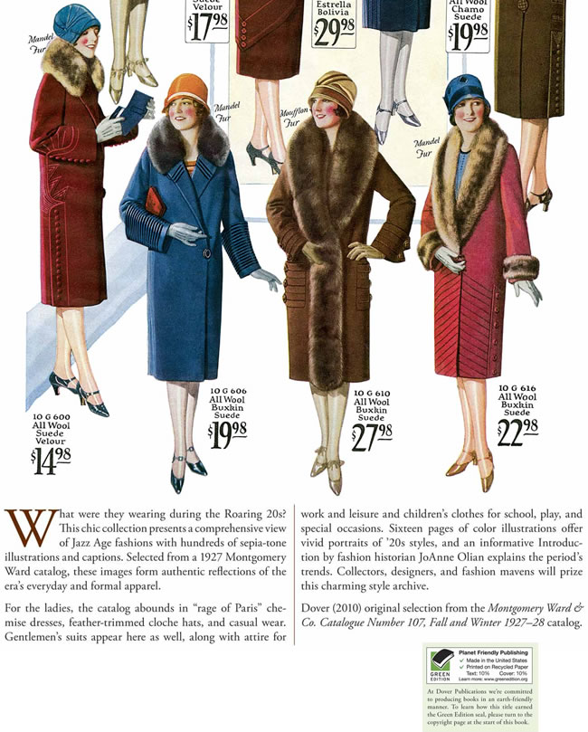 1927-28 MONTGOMERY WARD and CO FALL and WINTER CATALOG Clean Inside!
