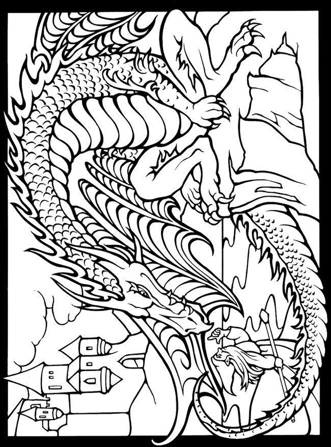 free dover coloring pages - photo#11