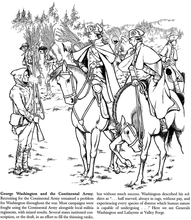 american revolution and coloring pages - photo#36
