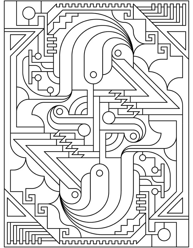 Welcome To Dover Publications Coloring Pages Deco