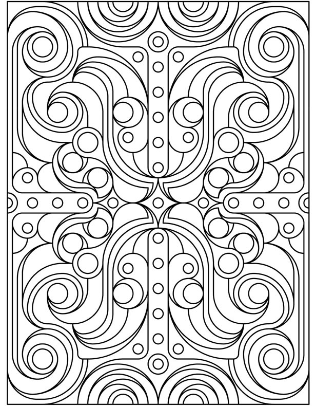 Art Deco Coloring Pages Book Covers Coloring Pages Deco
