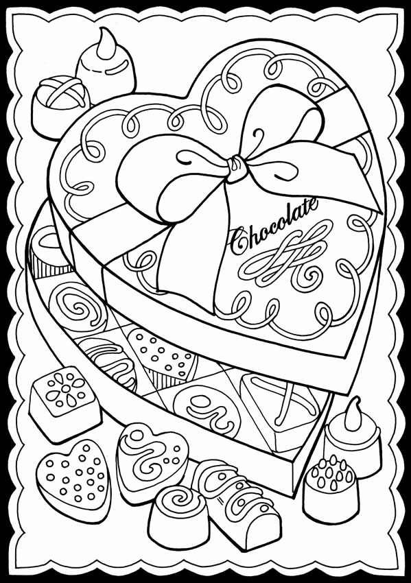 valentines stained glass coloring pages - photo#16