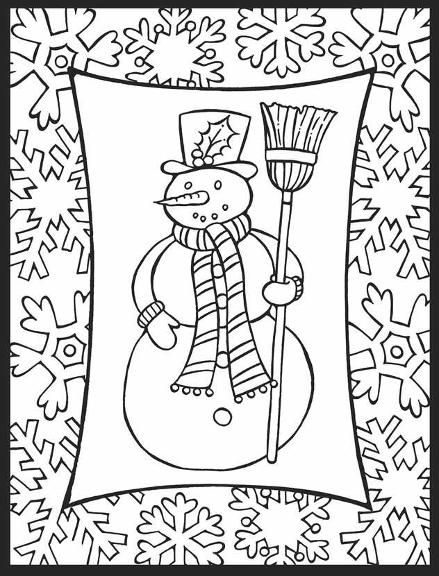 stained glass coloring pages christmas - photo#30