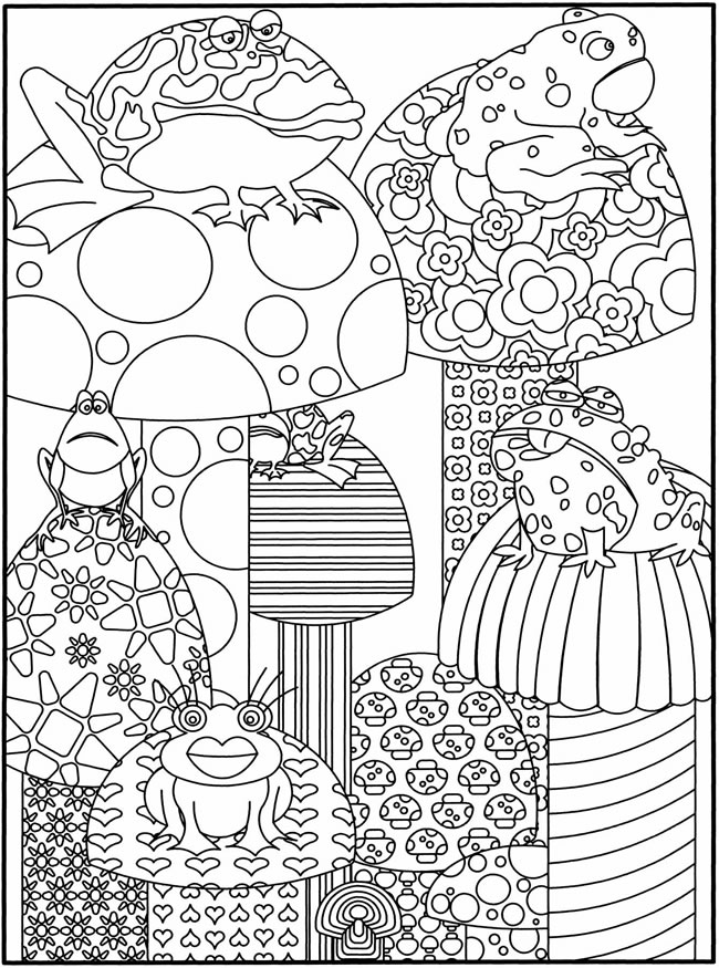 Welcome To Dover Publications Intricate Coloring Pages Printable 2