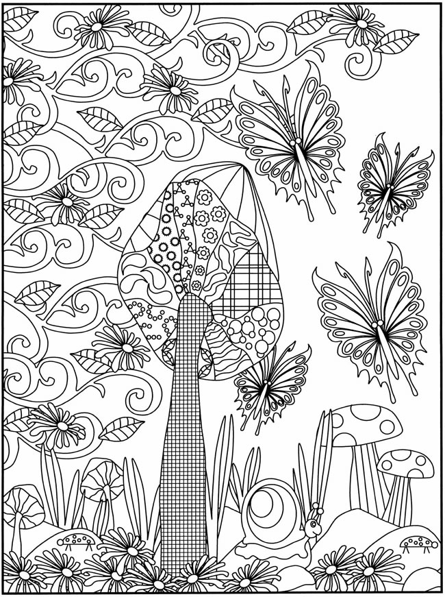 free dover coloring pages - photo#2