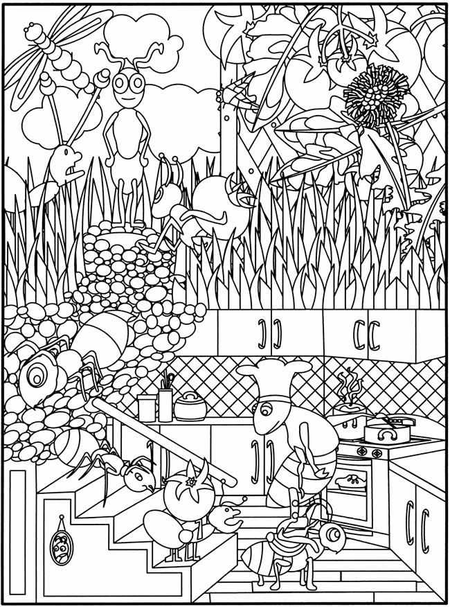 dover publications free coloring pages - photo#12
