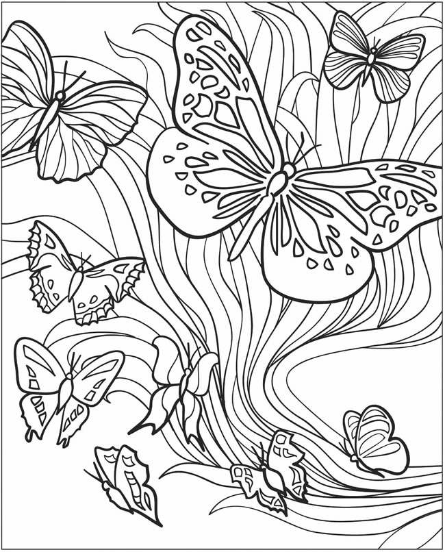 free dover coloring pages - photo#15