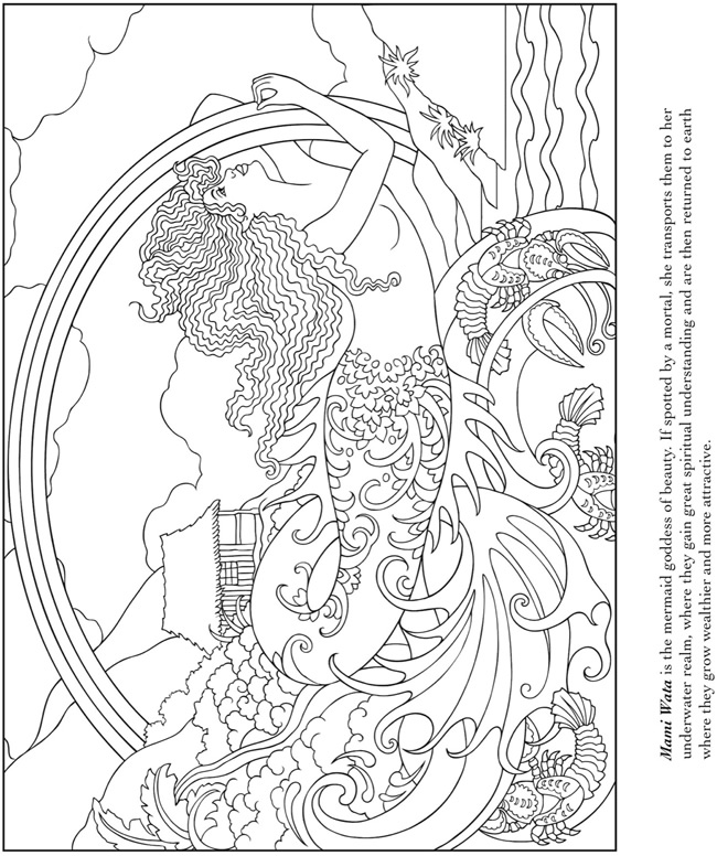 Hippie Coloring Pages For Adults
