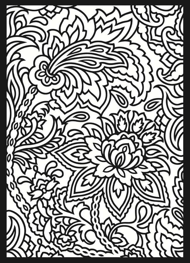 designs coloring pages for adults - photo#12