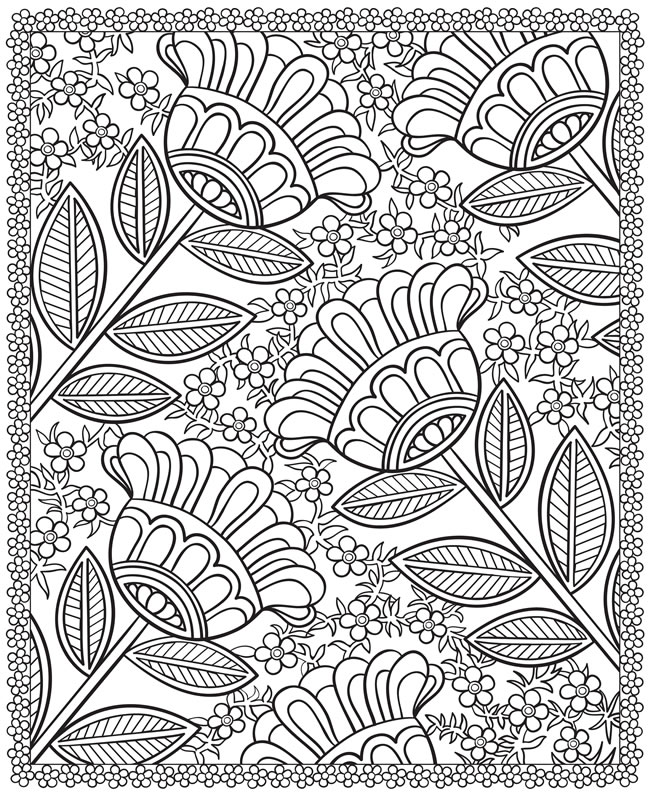 Welcome To Dover Publications Dover Coloring Books