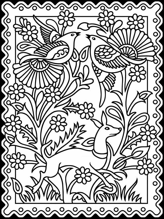 Coloring Pages Patterns Christmas Printables | Search Results ...