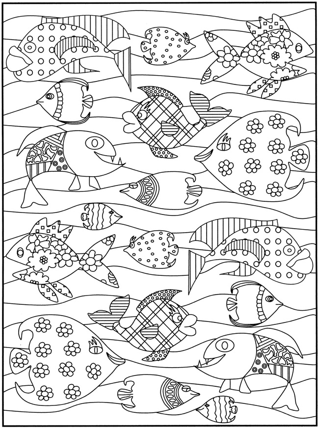 free dover coloring pages - photo#19