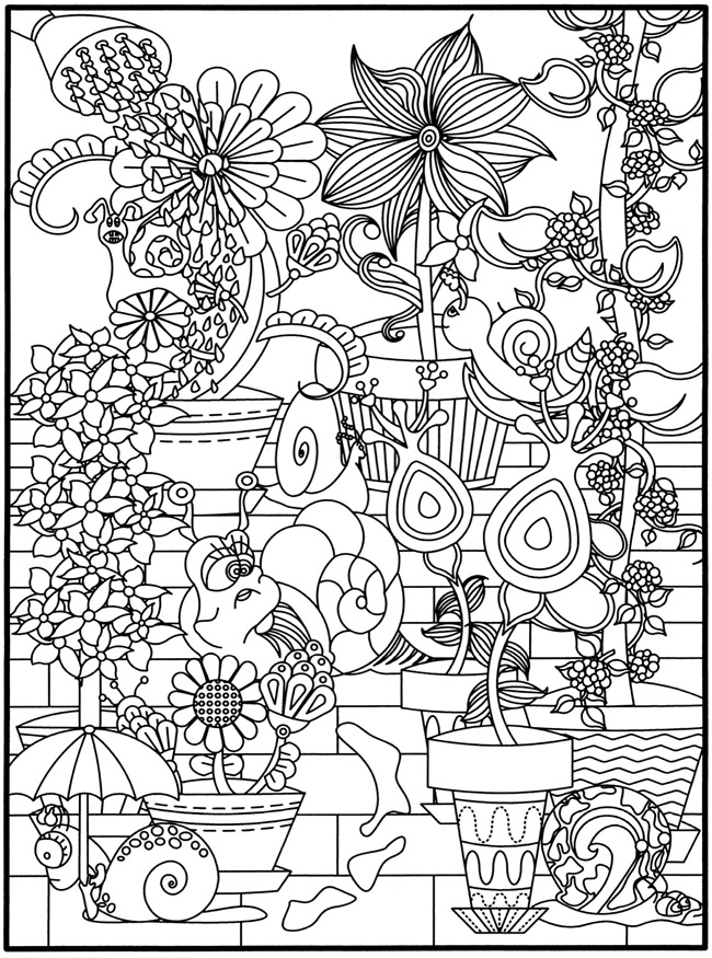 Dover Nature Coloring Book