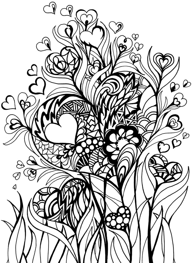 creative designs coloring pages - photo#7
