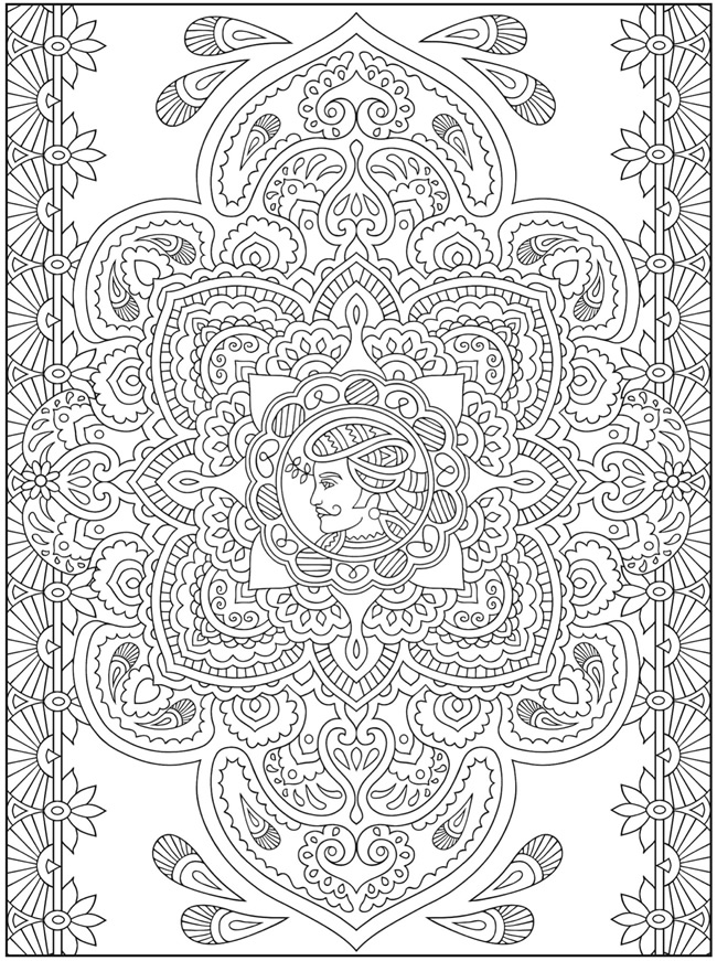Henna Elephant Coloring Pages Coloring Pages of Henna