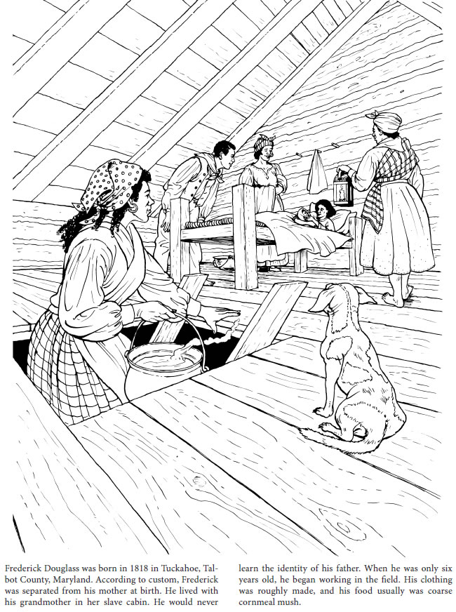 hubless douglas coloring pages - photo#28