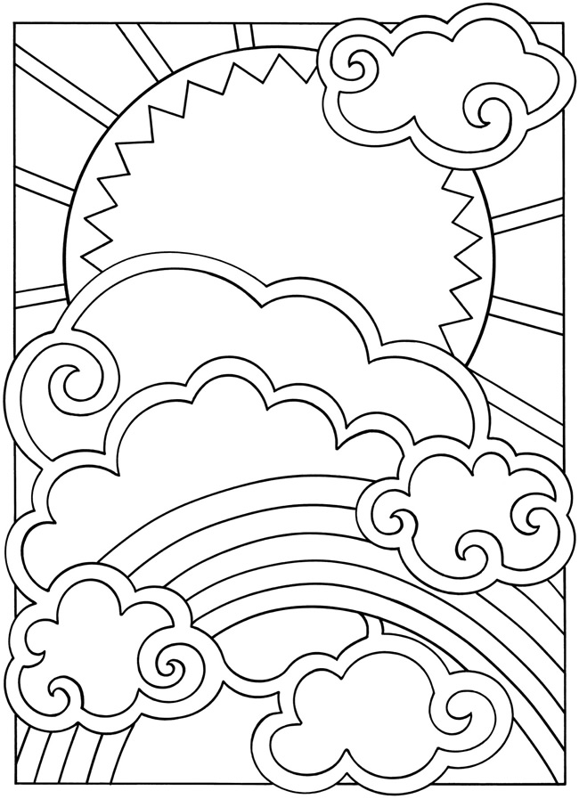 Free Coloring Pages Of Sun Moon And Stars Sun And Moon Coloring Pages