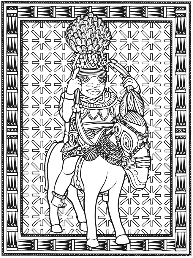 Welcome to dover publications for African american bible coloring pages