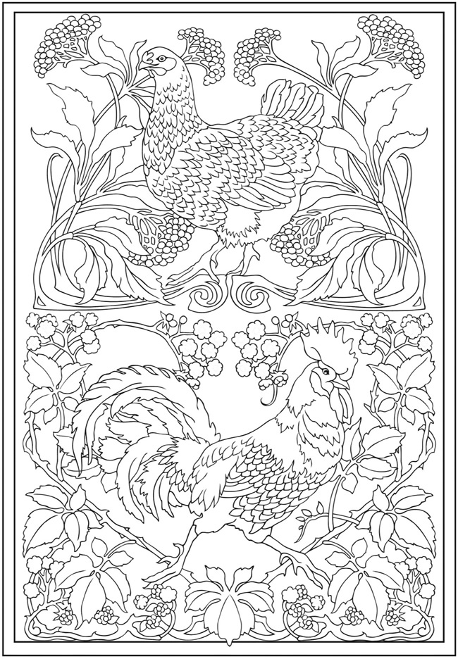 dover publications free coloring pages - photo#15