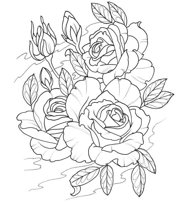 Раскраски для девочек распечатать бесплатно цветы а4