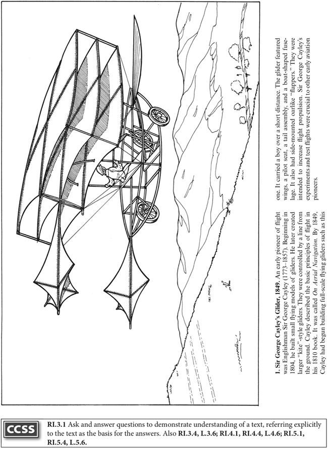 Welcome To Dover Publications Wright Brothers Coloring Page