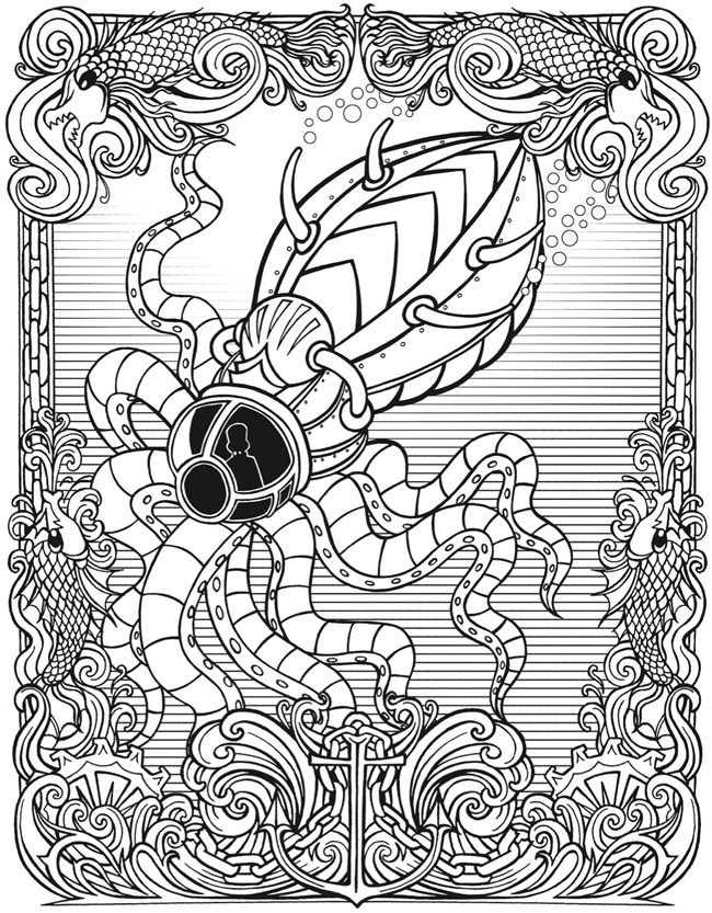 Coloring Page 1 2 3 4 5