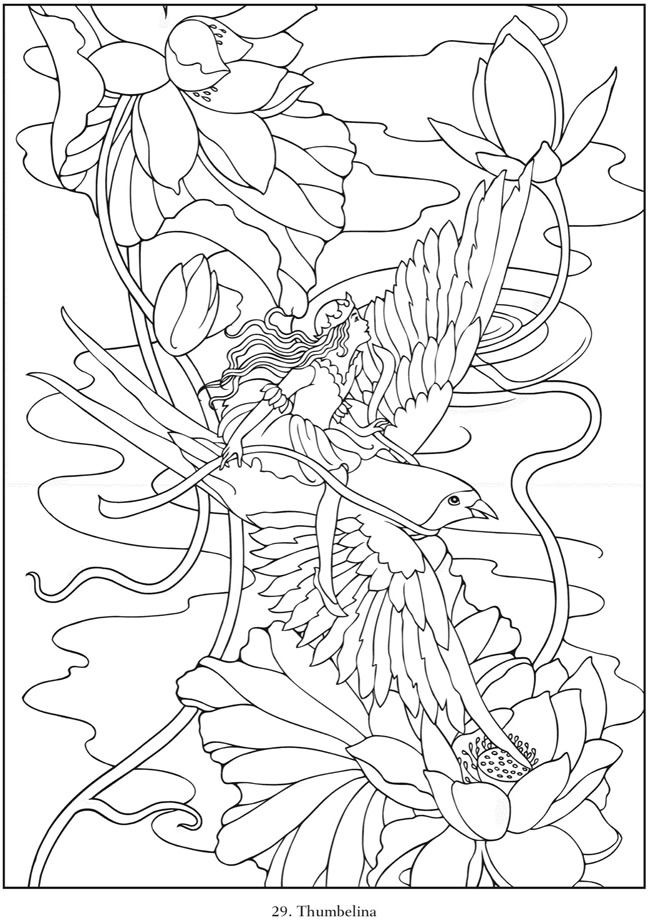 It's just a graphic of Influential Dover Publications Coloring Books