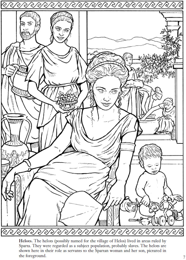 art history coloring book pages - photo#43
