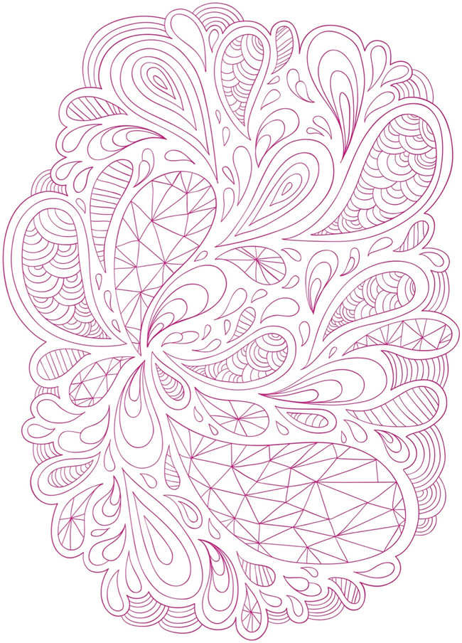 Coloring Pages Abstract Printable : Welcome to dover publications
