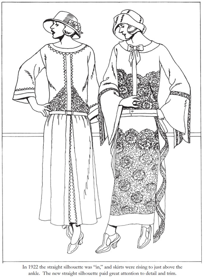 coloring pages 1920s - photo#11