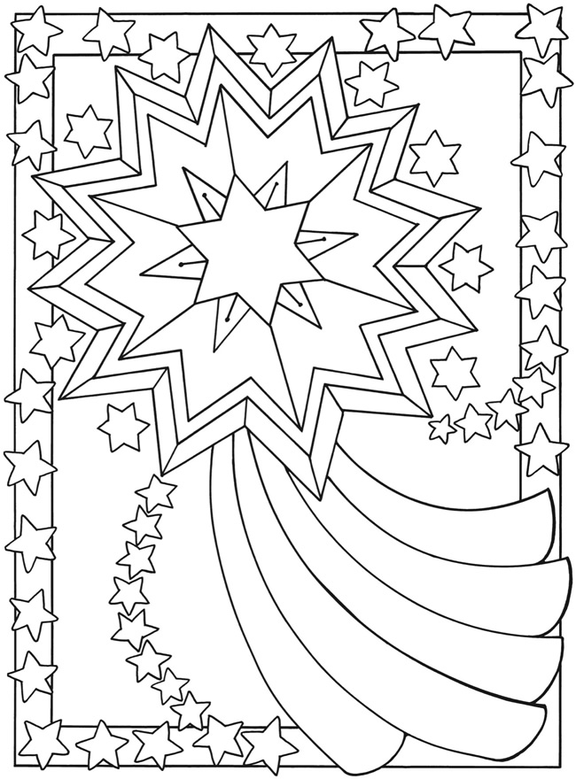 Child Moon And Stars Coloring Pages Printable   Moon coloring ...   880x650
