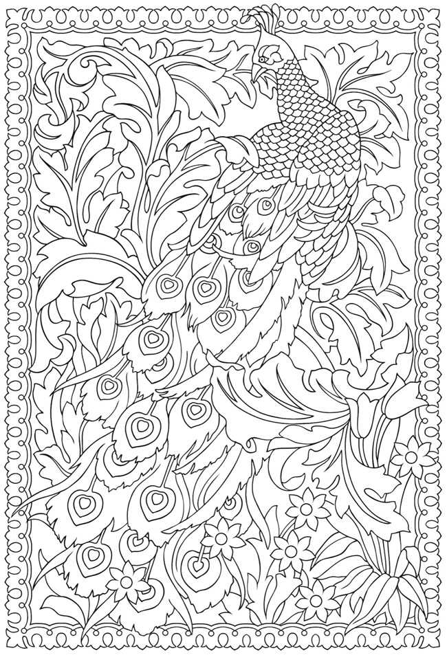 Creative Colouring Patterns Of Nature : Creative designs colouring pages