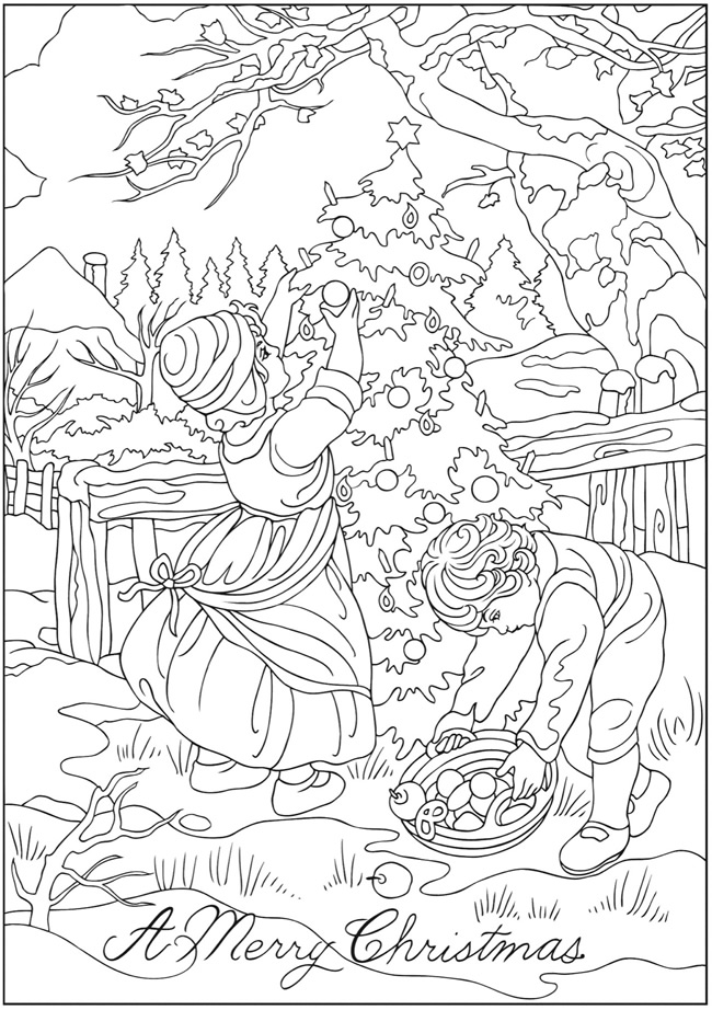 swiss scenes coloring pages - photo#35