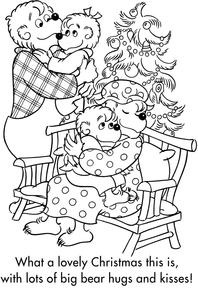 Free coloring pages berenstain bears live ~ Welcome to Dover Publications