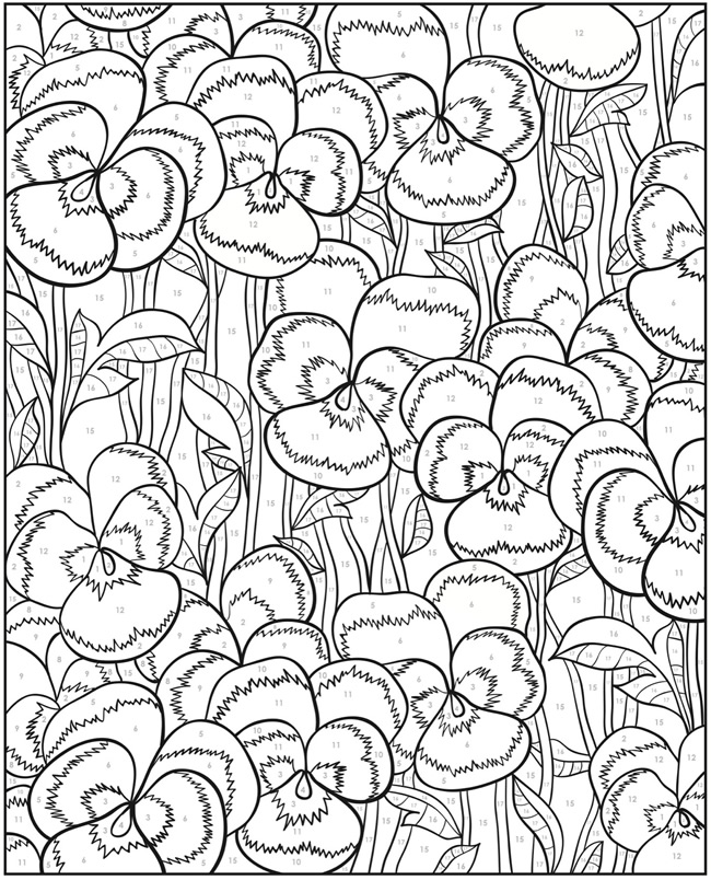 Free Coloring Pages Of Colorama