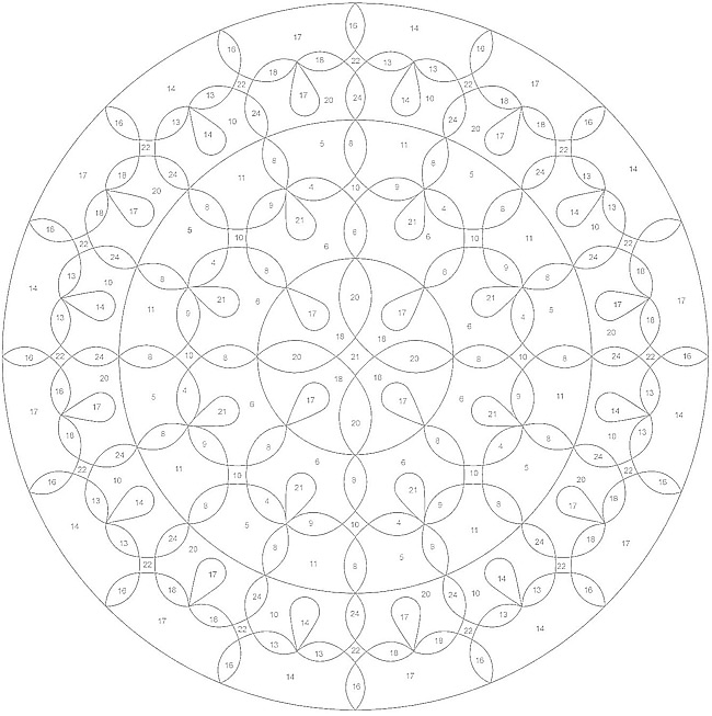 color by numbers mandalas and dovers on pinterest. Black Bedroom Furniture Sets. Home Design Ideas