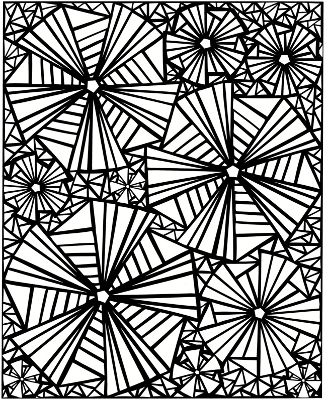 mosaics coloring pages - photo#25
